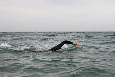 open water swimming in cornwall