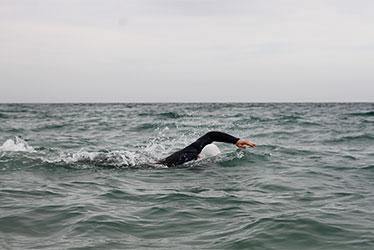 open water swimming in cornwall