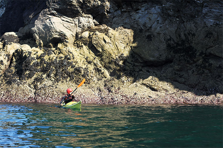 sea kayaking instructor and guide hugo brown