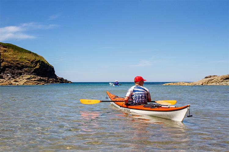cornish rock tors sea kayaking guide