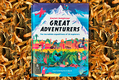 gret adventurers book by alistair humphreys