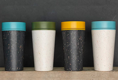 rcup recycled reusable coffee cups
