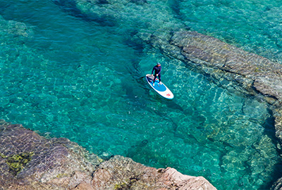 stand up paddle boarding in cornwall